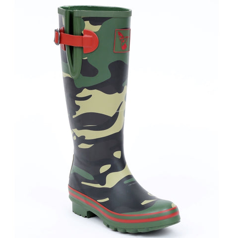 Evercreatures Ladies Wellington Camouflage