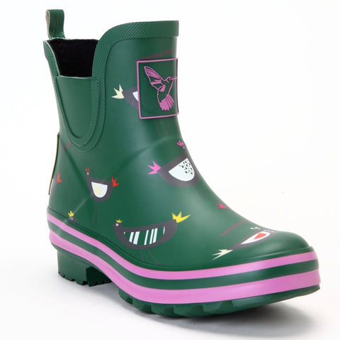 Evercreatures Ladies Ankle Wellies Chicken