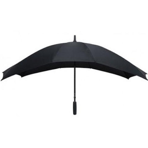 Duo Umbrella Two Person Size Black