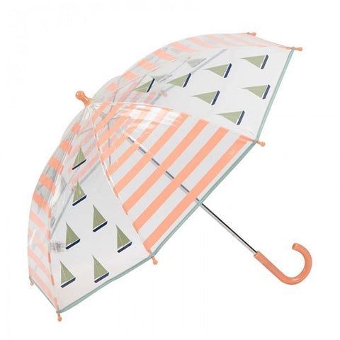 Children's Umbrella Sailing Boat Peach