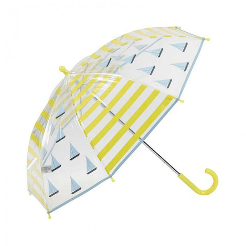 Children's Umbrella Sailing Boat Yellow