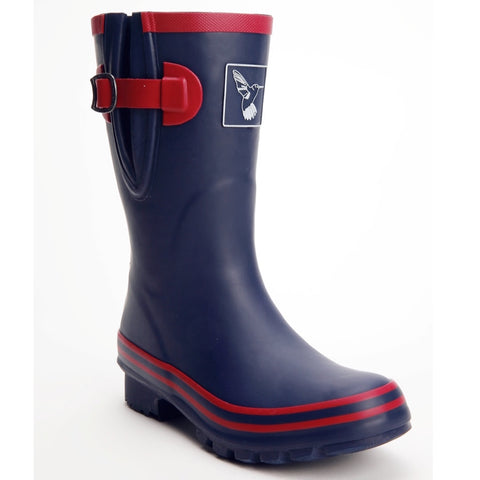 Evercreatures Ladies Wellies Short Raspnavy