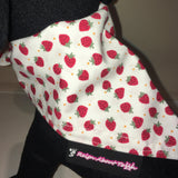 Dog Bandana Strawberry Print