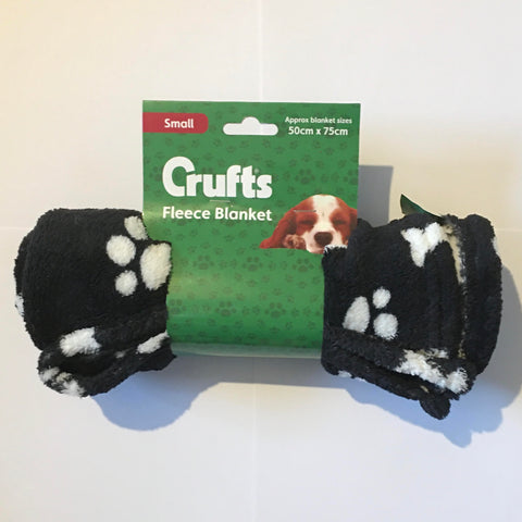 Dog Crufts Small Fleece Blanket