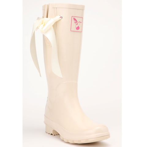 Evercreatures Ladies Wellies Tall 'I Do'