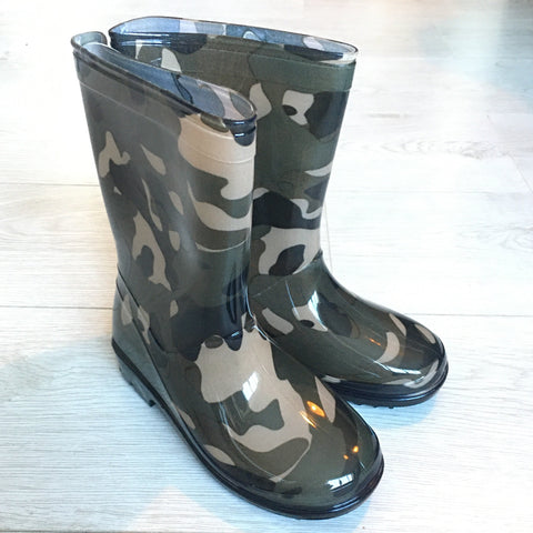 Mud Rocks Children's Wellingtons Camouflage