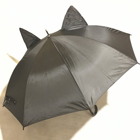 Ladies Cat Ears Umbrella Black