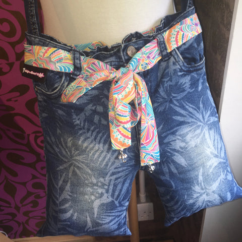 Jeans Bag Multi Liberty Fabric Belt Head Band