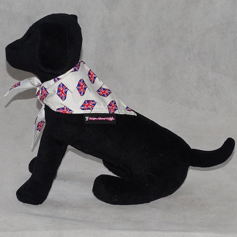 Dog Bandana Union Jack Print
