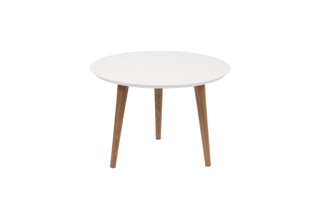 Miller Side Table in Colour MDF and Oak Legs | BIRBA