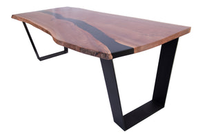 Raw American Walnut Dining Table