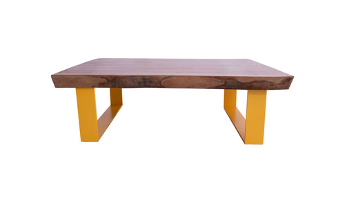 Raw African Mahogany Coffee Table