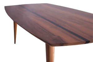 Elkay Coffee Table with Black Resign Line Detail