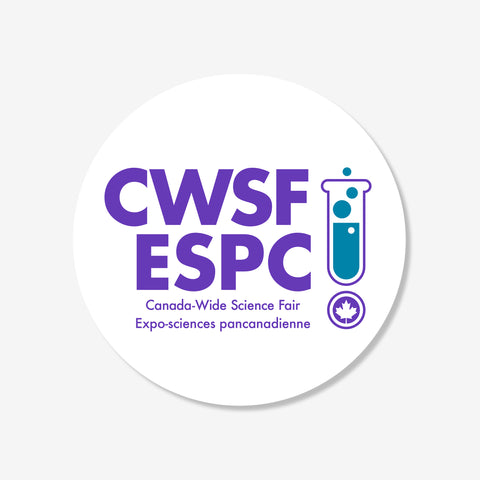 Sticker, CWSF - 8.9 cm (3.5 inches)