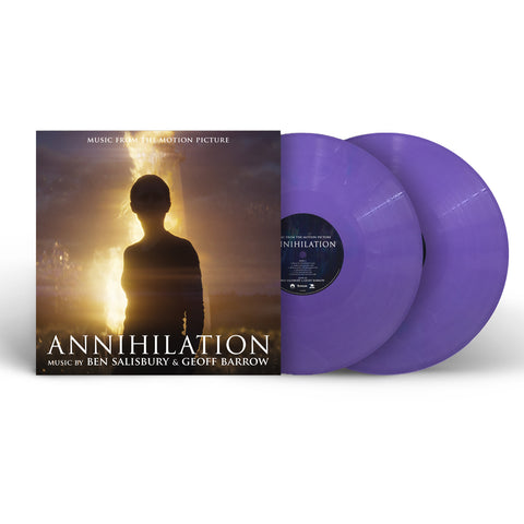 Ben Salisbury & Geoff Barrow - Annihilation (Music From The Motion Picture) [2 x Purple Marble Coloured Vinyl]