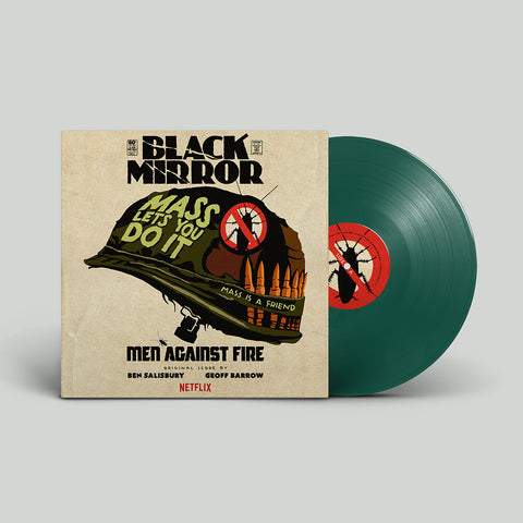 PRE SALE: Geoff Barrow & Ben Salisbury - Black Mirror: Men Against Fire Original Score [Army Green Vinyl]