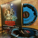 Kyle Dixon & Michael Stein - Stranger Things (Season 1 Vol. 2) 2 x Blue & Black Swirl 2018 Repress