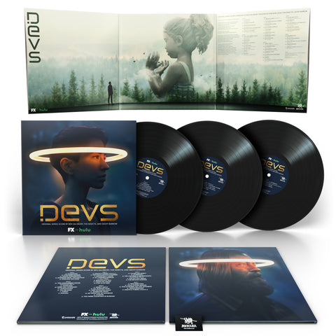 Devs (Original Series Soundtrack) - Ben Salisbury, The Insects & Geoff Barrow [3 x Black Vinyl]