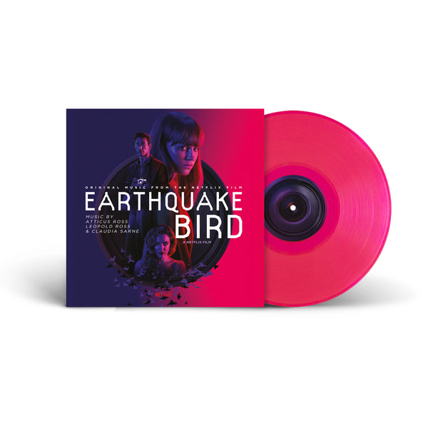 Atticus Ross, Leopold Ross & Claudia Sarne - Earthquake Bird OST [Neon Pink LP]
