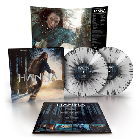HANNA: Season 1 OST - Ben Salisbury & Geoff Barrow, Karen O, Beak> + Others [2 x Ltd Edition Splatter LP]