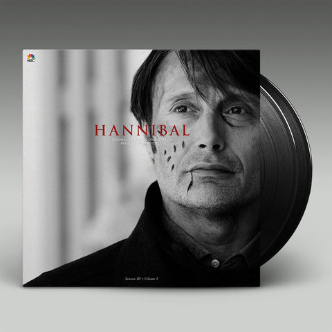 Hannibal Original Television Soundtrack Music by Brian Reitzell Season 3: Vol 1 (Black Vinyl 2xLP)
