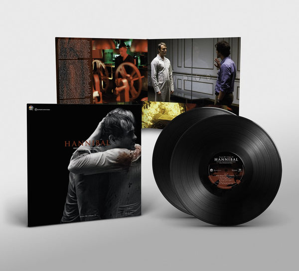 Hannibal Original Television Soundtrack Music by Brian Reitzell Season 3: Vol 2 (Black Vinyl 2xLP)