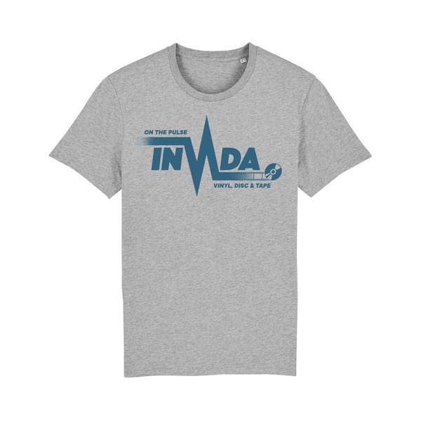 "Invada ""On The Pulse"" T-Shirt [Marle Grey]"