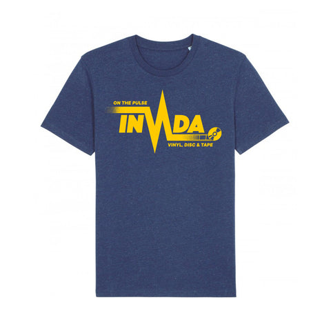 "Invada ""On The Pulse"" T-Shirt [Heather Blue]"