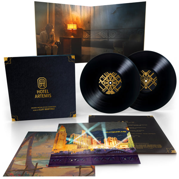Cliff Martinez - Hotel Artemis (Original Motion Picture Soundtrack) [2 x 180g Black Vinyl]