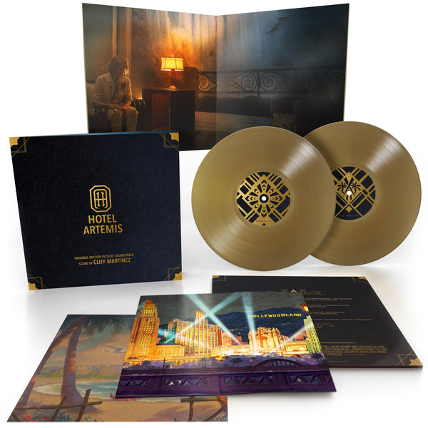 Cliff Martinez - Hotel Artemis (Original Motion Picture Soundtrack) [2 x Gold Vinyl]