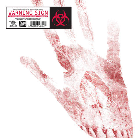 WARNING SIGN OST by Craig Safan (2 x Colour LP & CD)