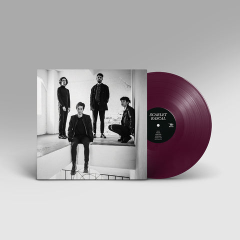 Scarlet Rascal Self-Titled LP On Coloured Vinyl