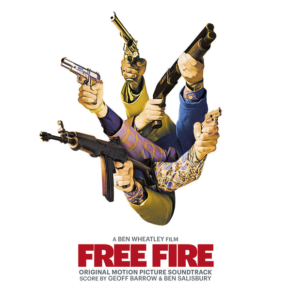 Free Fire: Original Motion Picture Soundtrack Score by Geoff Barrow & Ben Salisbury [Full Soundtrack CD]