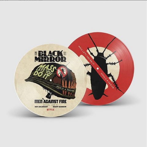 PRE SALE: Geoff Barrow & Ben Salisbury - Black Mirror: Men Against Fire Original Score [Picture Disc]