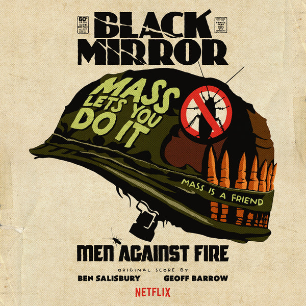 Geoff Barrow & Ben Salisbury - Black Mirror: Men Against Fire Original Score [Picture Disc]