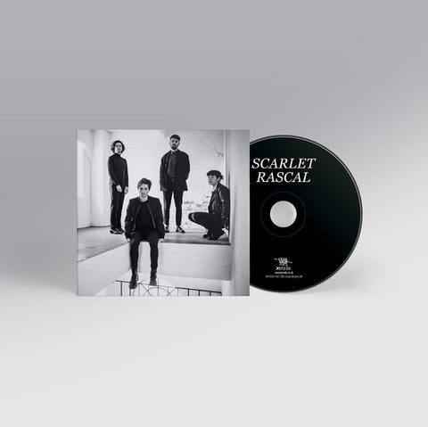 Scarlet Rascal Self Titled CD Digipak