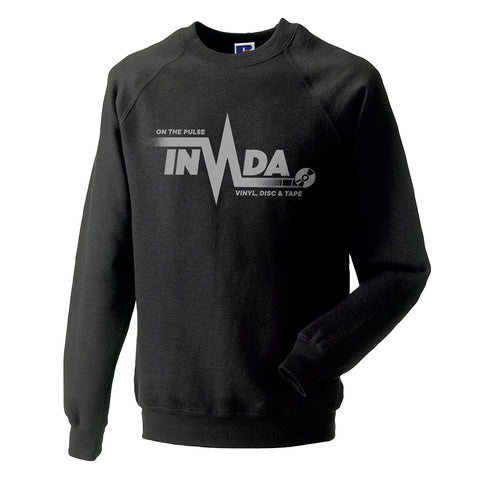 "Invada ""On The Pulse"" Sweatshirt [Black]"