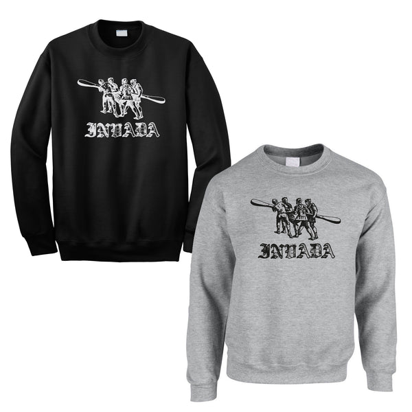 Invada Logo Sweatshirt [Grey or Black]