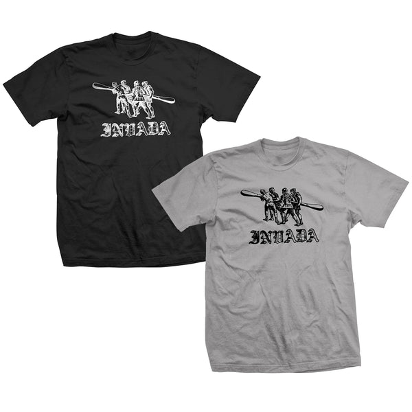 Invada Logo T-Shirt [Black or Grey]