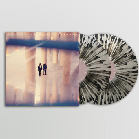 [Pre Sale] The KVB - Only Now Forever [Ltd Edition Mail Order Exclusive 2 x Transparent Vinyl w/ Black Splatter]
