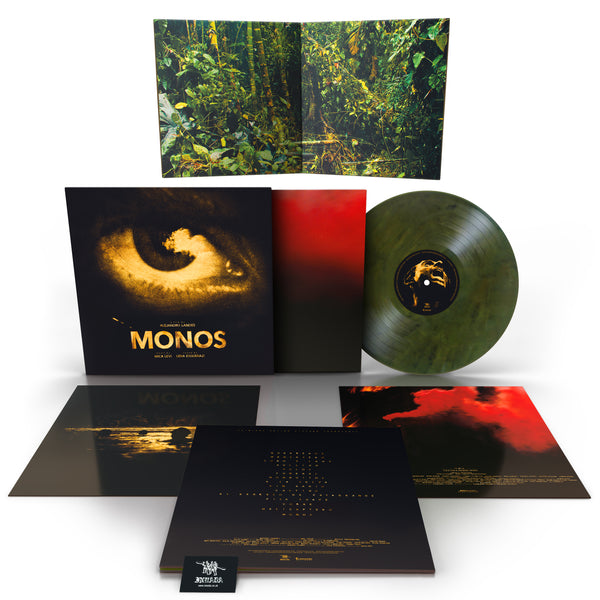 Mica Levi - Monos OST [Ltd Edition Exclusive 'Moss Green' Vinyl]