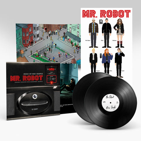 PRE-SALE: MR ROBOT ORIGINAL MUSIC BY MAC QUAYLE: VOLUME 3 (2 X 180 GRAM HEAVYWEIGHT BLACK VINYL)