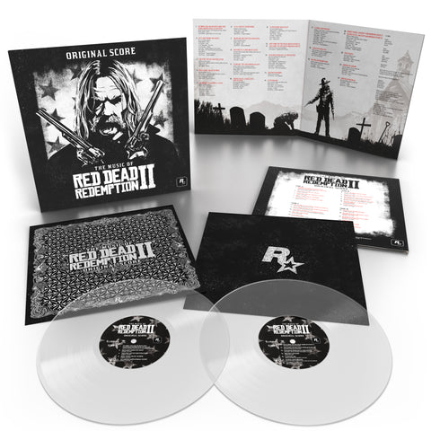 [Pre Order] The Music of Red Dead Redemption 2: Original Score [2 x Transparent Vinyl]