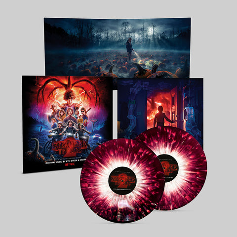 Stranger Things 2 (A Netflix Original Series Soundtrack) - [Mail Order Exclusive: 2 x Crystal Purple Vinyl w/ White Splatter]