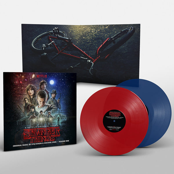 Stranger Things: Volume 1 (2xLP) Retail Variant One red / one blue coloured transparent vinyl