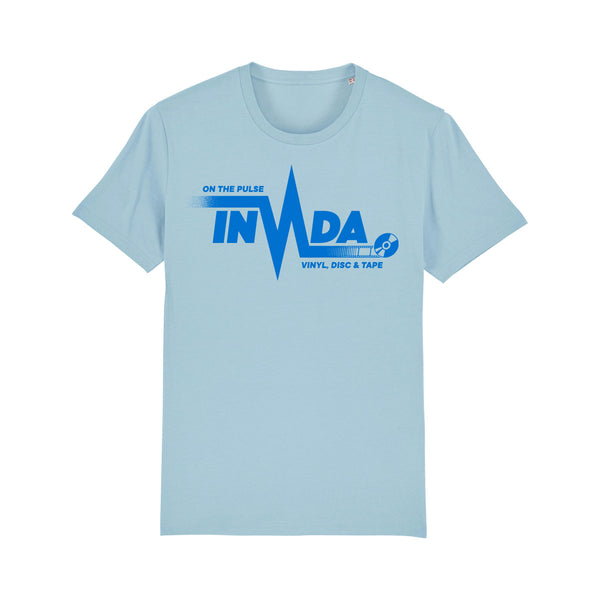 "Invada ""On The Pulse"" T-Shirt [Sky Blue]"
