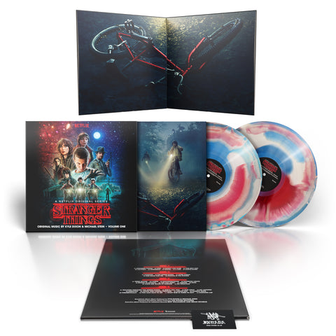 Kyle Dixon & Michael Stein - Stranger Things: Season 1 Vol. 1 2021 Tri-Colour Edition [2 x LP]