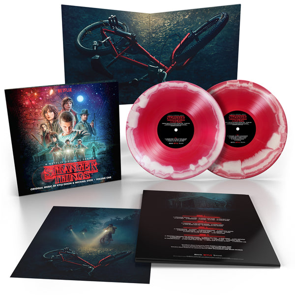 Kyle Dixon & Michael Stein - Stranger Things (Season 1 Vol. 1) 2 x Red & White Swirl 2018 Repress