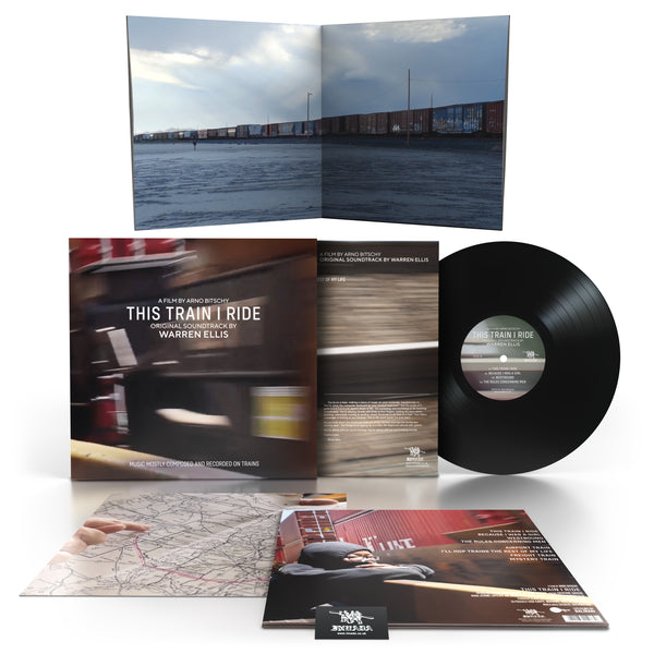 Warren Ellis - This Train I Ride OST [Black Vinyl LP] inc Free Cassette for Ltd Time