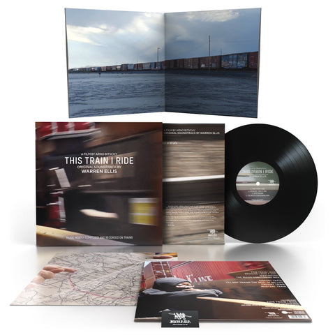 Warren Ellis - This Train I Ride OST [Black Vinyl LP]